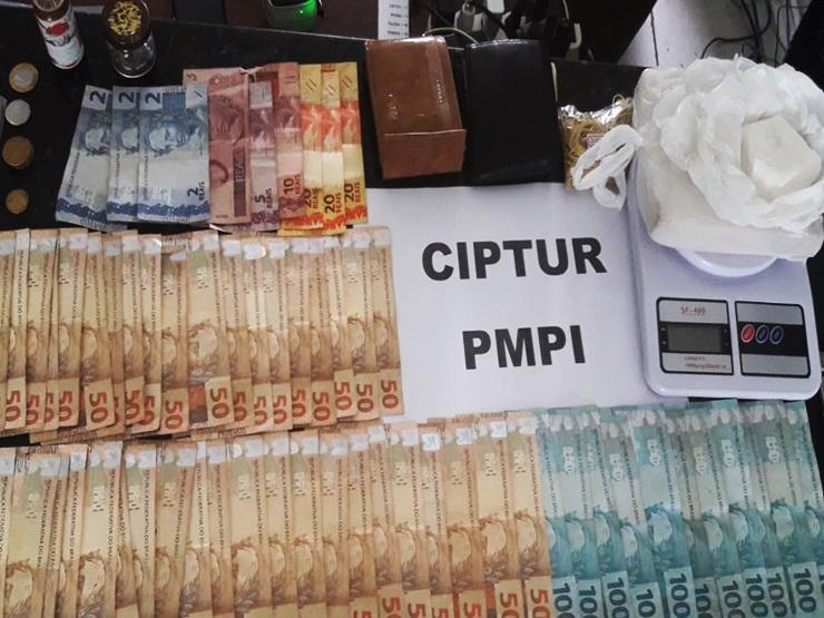 CIPTUR desarticula venda de crack em Parnaíba e Luís Correia