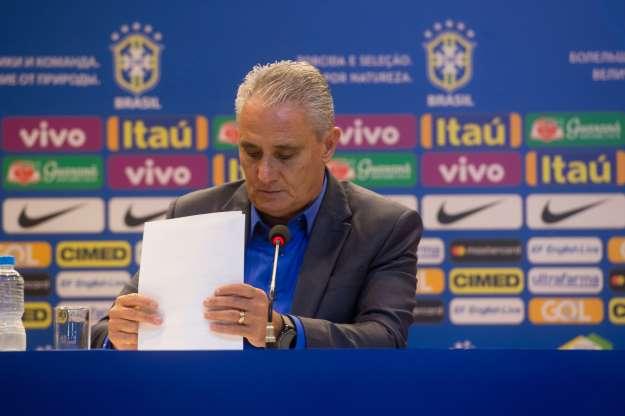 Tite convoca a Seleção para amistosos contra o Panamá e República Tcheca