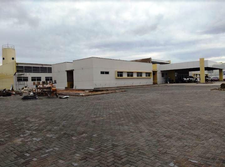 Obras do Centro Especializado em Reabilitação estão em fase de acabamento