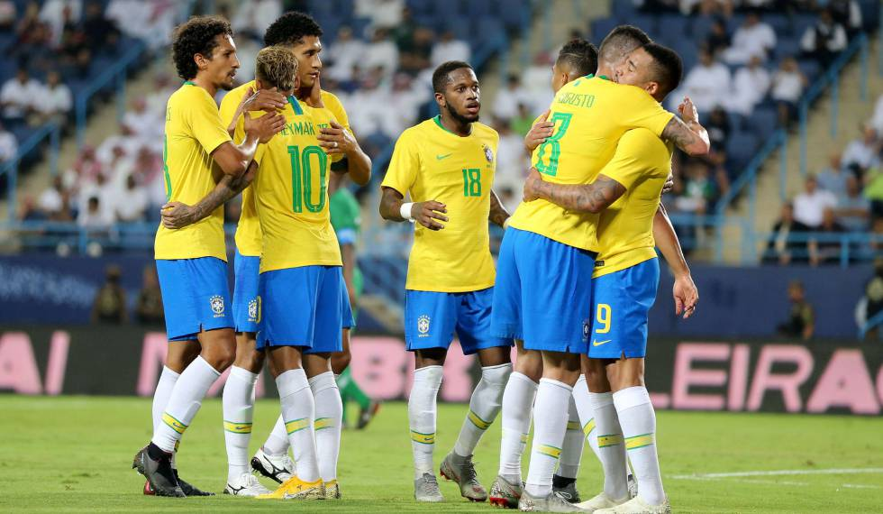 Brasil marca amistoso contra a Colômbia, após Copa América