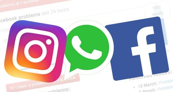 Facebook, Instagram e WhatsApp voltam ao normal após instabilidade