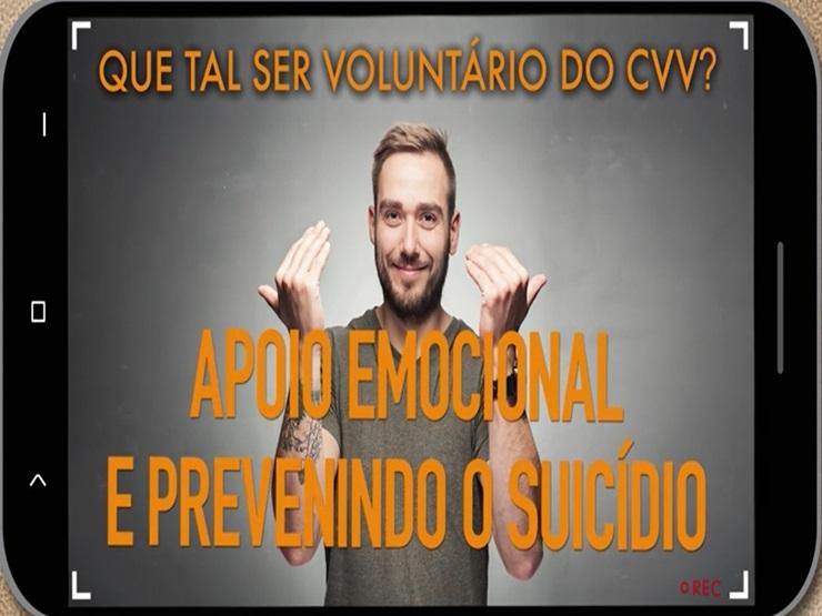 Seja voluntário do CVV Parnaíba pela prevenção do suicídio