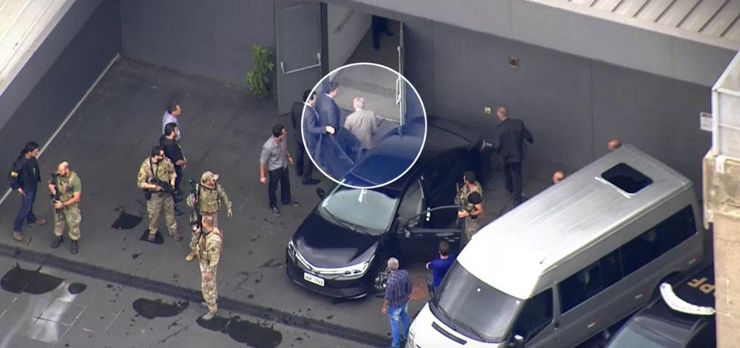 Michel Temer e Moreira Franco são presos pela Lava Jato
