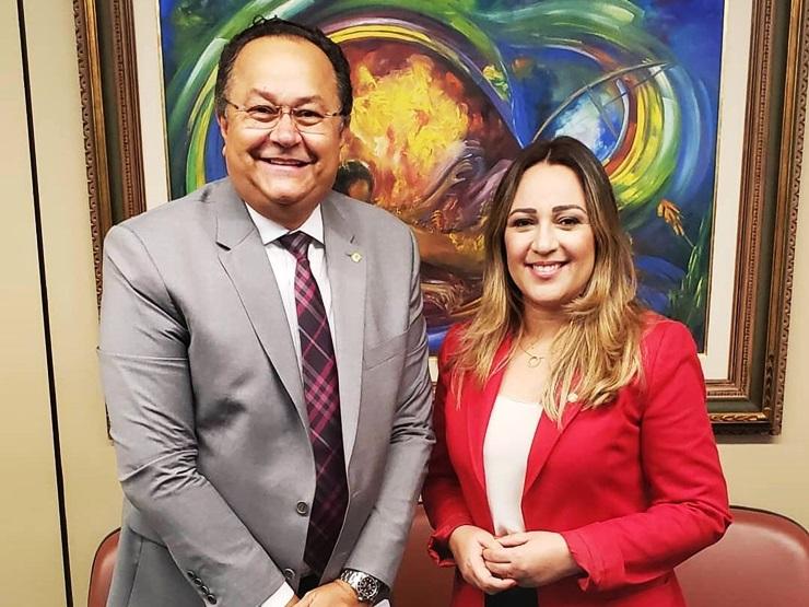 Deputada Rejane Dias é convidada para mesa diretora de Bancada Evangélica