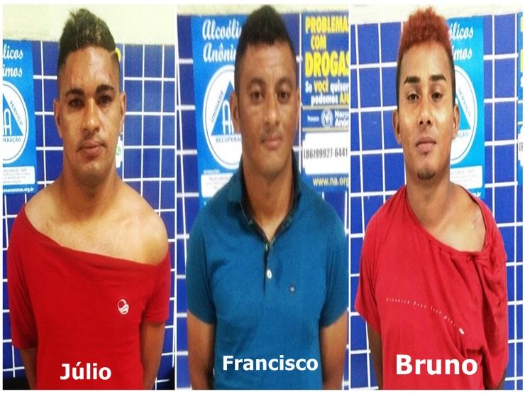 Jovem é agredida a socos e chutes durante festa, três são presos