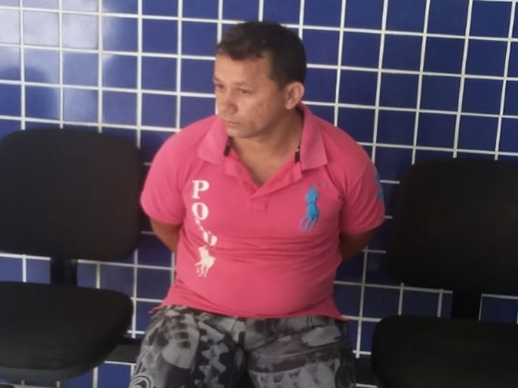 Acusado de roubo é preso pela Polícia Militar por força de mandado