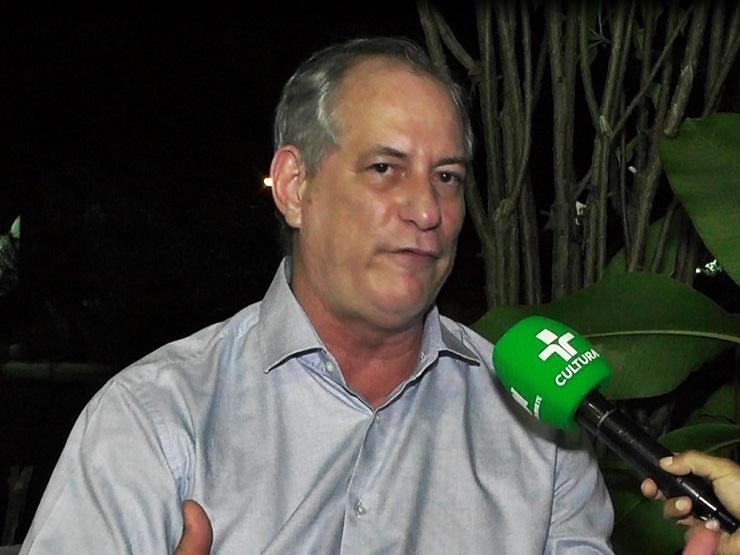 Ciro Gomes defende um pensamento econômico autônomo no Brasil