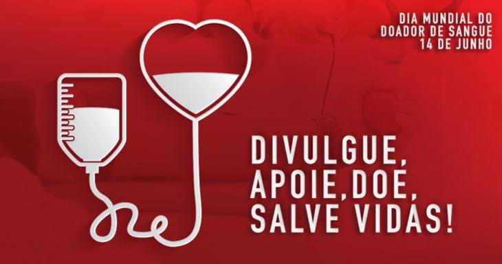 Campanha Junho Vermelho chama atenção para importância de doar sangue