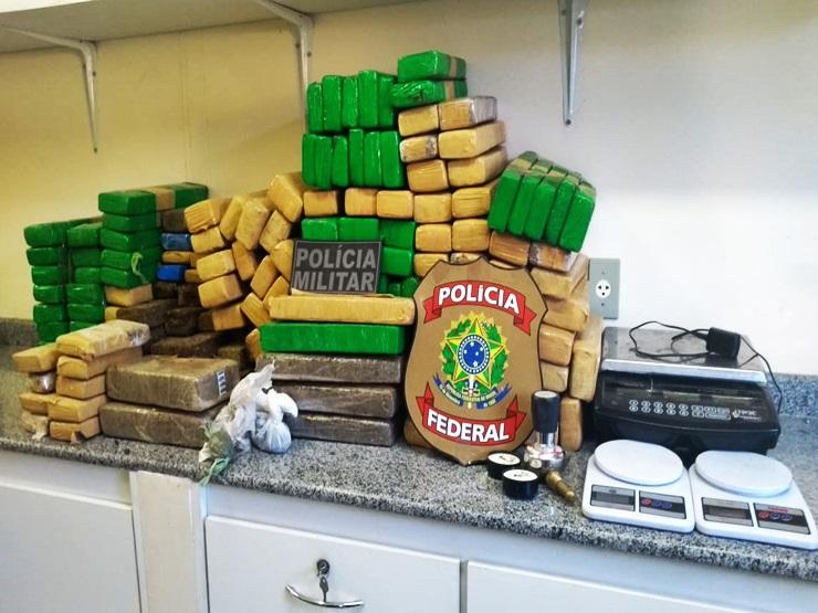 Polícia prende homem com quase 140 quilos de maconha no Buriti dos Lopes