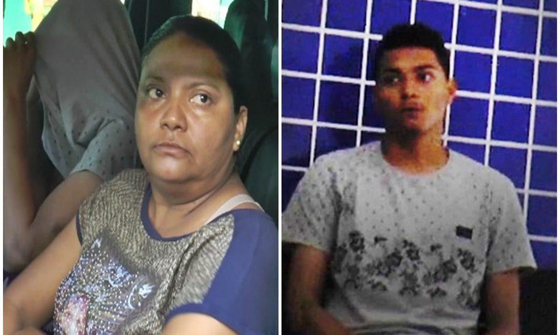Mãe é presa por tráfico de drogas juntamente com o filho
