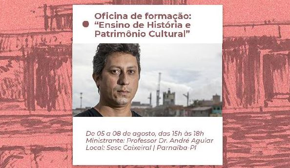 Sesc Caixeiral promove oficina sobre História e Patrimônio
