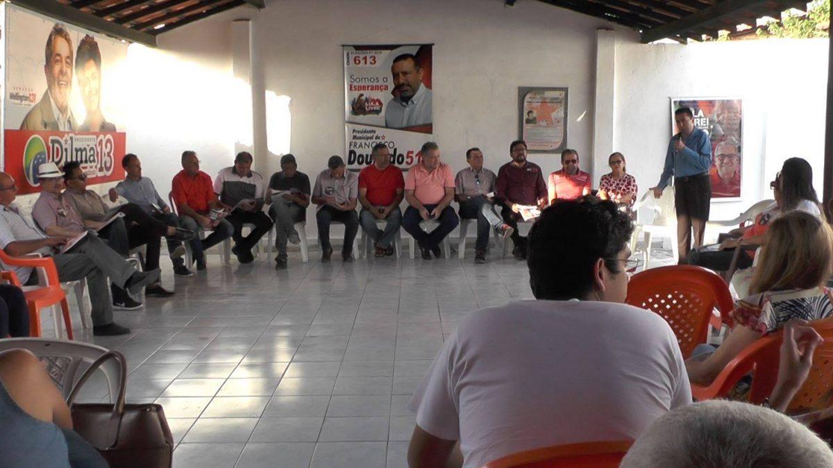 PT de Parnaíba reúne filiados e discute eleições internas do partido