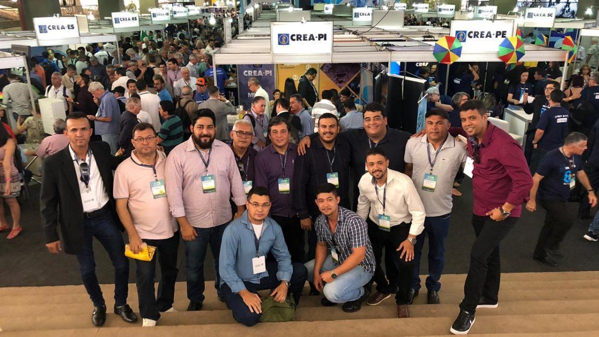 Inspetoria de Parnaíba participa do maior evento da Engenharia e Agronomia nacional