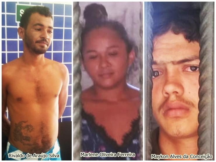 Polícia Militar prende três pessoas por tentativa de homicídio, tráfico e roubo