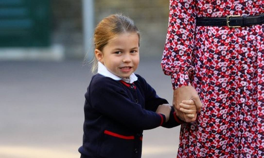Princesa Charlotte tem apelido inusitado na escolinha