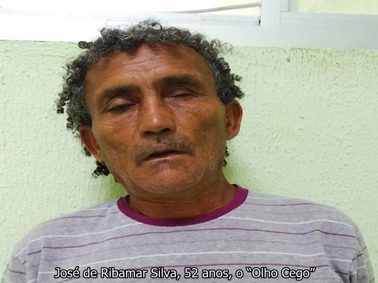 Polícia Civil prende 'Olho Cego' acusado de tráfico de drogas
