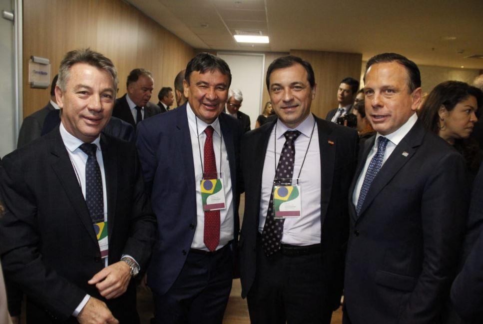 Fórum de Governadores trata sobre novo Fundeb, segurança e cessão onerosa