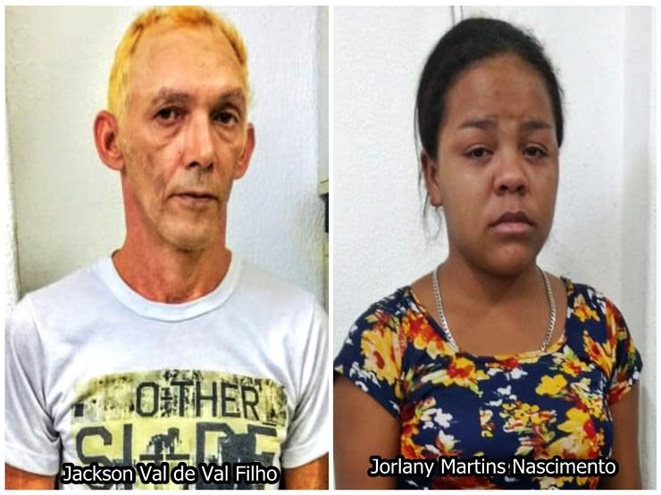 Casal é preso por tráfico de drogas no Buriti dos Lopes após denúncias