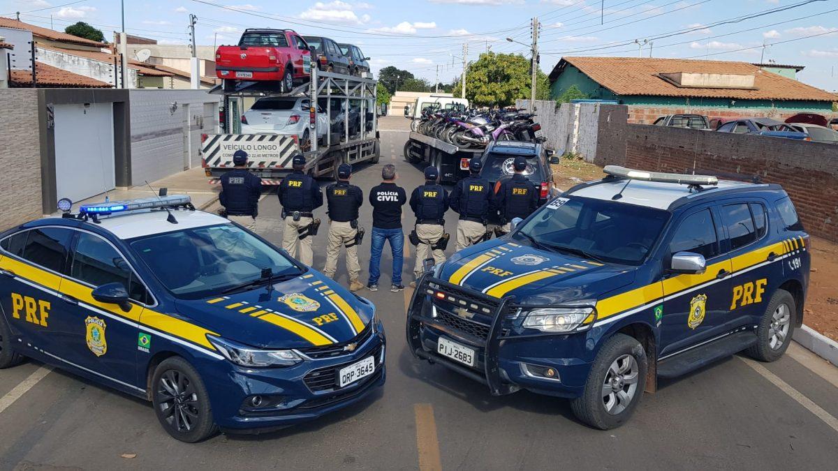Op. Hircus: 179 veículos são recuperados e 90 pessoas presas no Piauí