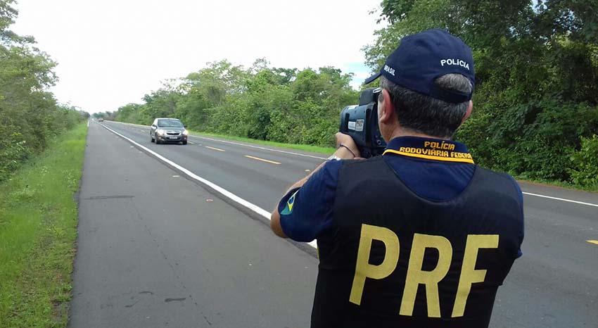 PRF registra um óbito e nove feridos em acidentes no feriado
