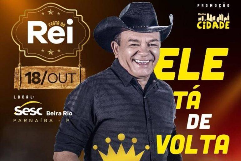 Rádio Cidade lança promoção para compra de ingressos para a Festa do Rei