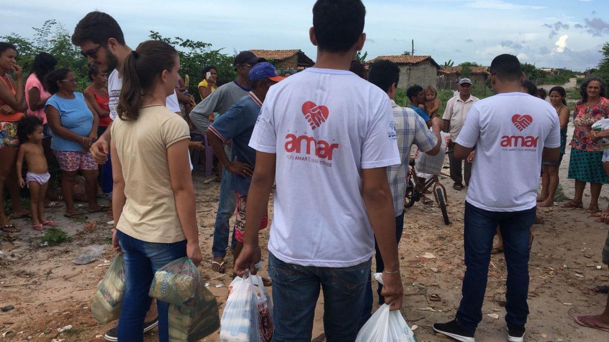 Parque José Estevão recebe ação social do Projeto AMAR