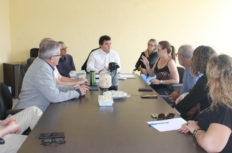 Superintendente das PPPs se reúne com diretoria da ZPE para plano de investimentos