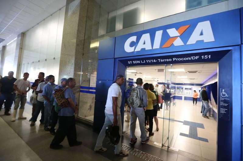 Caixa anuncia que agências ficarão abertas de 10h às 14h