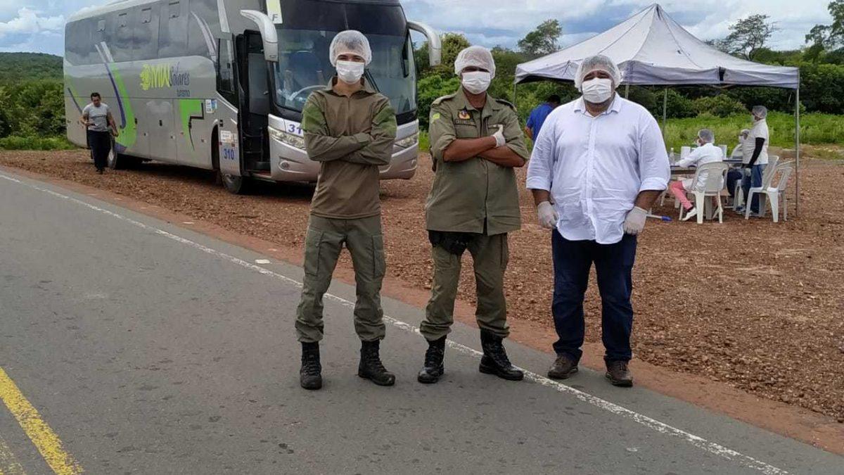 Estado intensifica fiscalização nas divisas do Piauí no combate à Covid-19