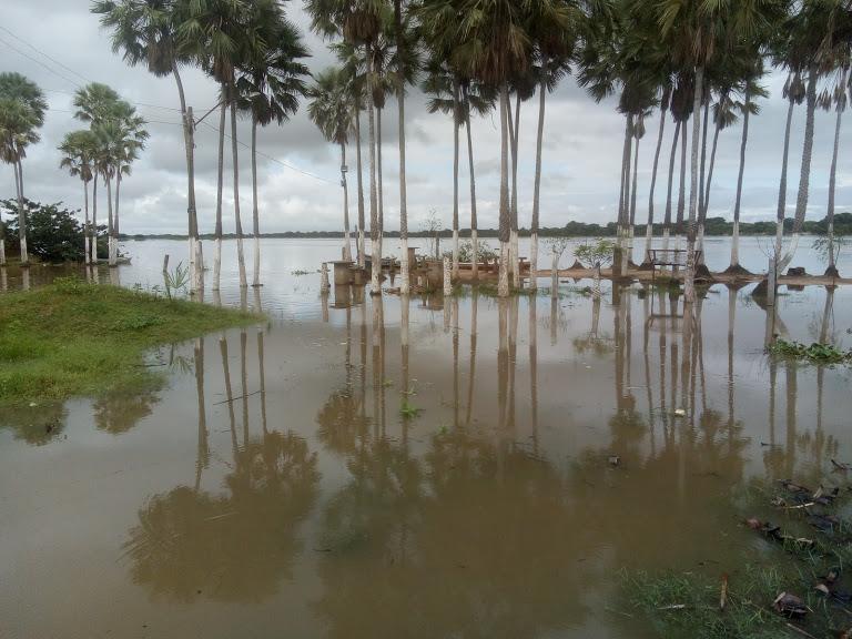 Nível dos rios que cortam Parnaíba aumenta por conta das chuvas