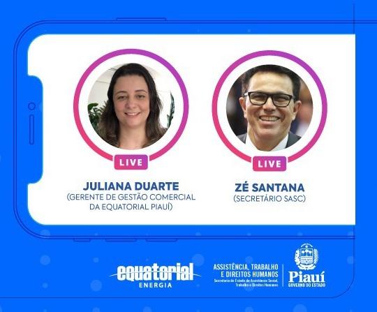 SASC e Equatorial Piauí vão esclarecer como funciona cadastro e atualização do NIS