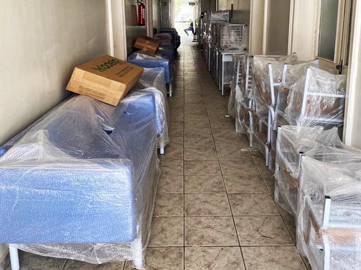 Secretaria de Saúde entrega novos equipamentos ao HEDA no combate a Covid-19