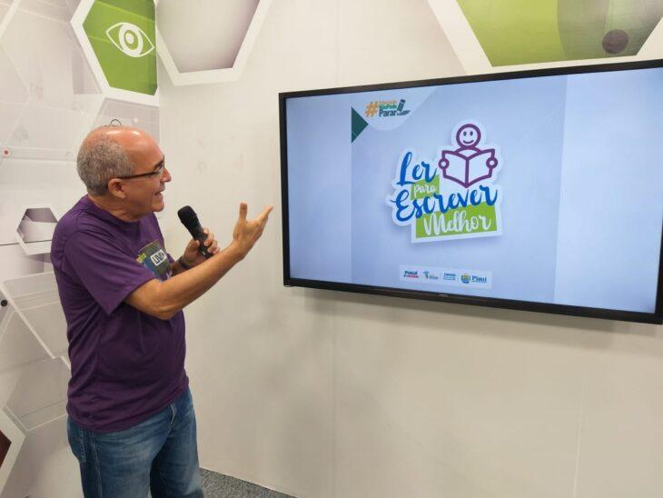 Seduc e autores piauienses firmam parceria para o projeto Ler para Escrever Melhor