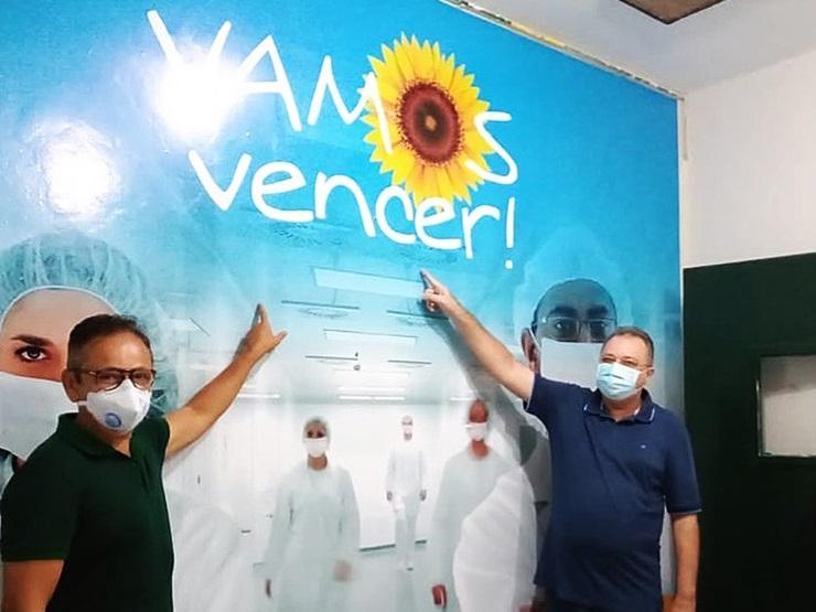 Florentino e Dr. Hélio inauguram Unidade Exclusiva de Atendimento à Covid-19