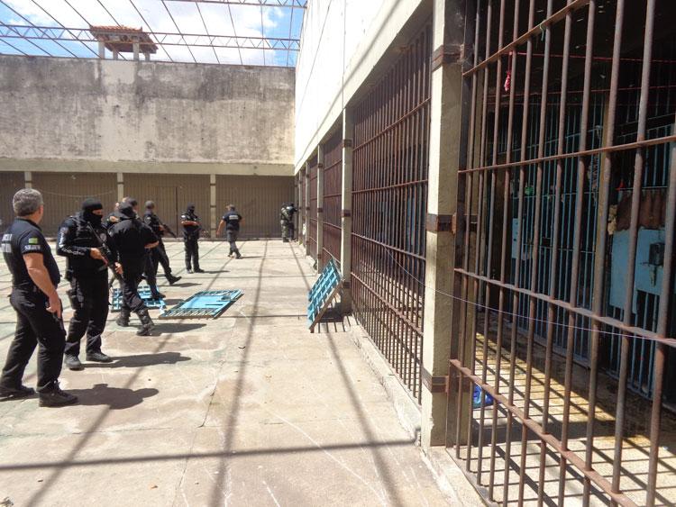 Sejus realizará testes rápidos para COVID-19 em todos os detentos
