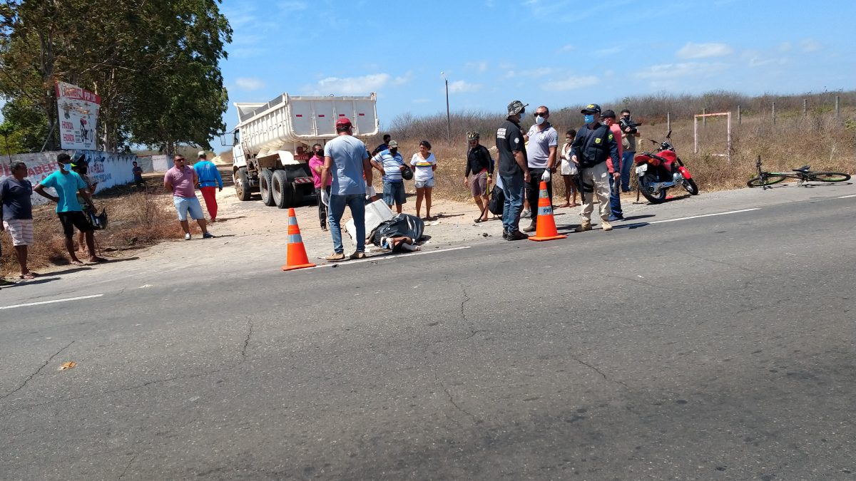 Acidente de trânsito na BR-343 mata vendedor de peixes de Luís Correia