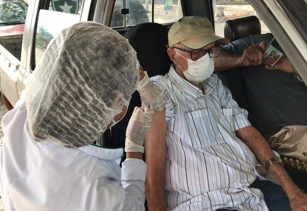 Piauí receberá novas doses e iniciará vacinação de idosos acima de 85 anos