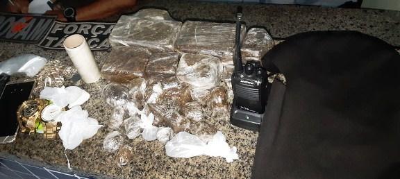 Ponto de venda de drogas é desarticulado no Bairro Ilha de Santa Isabel