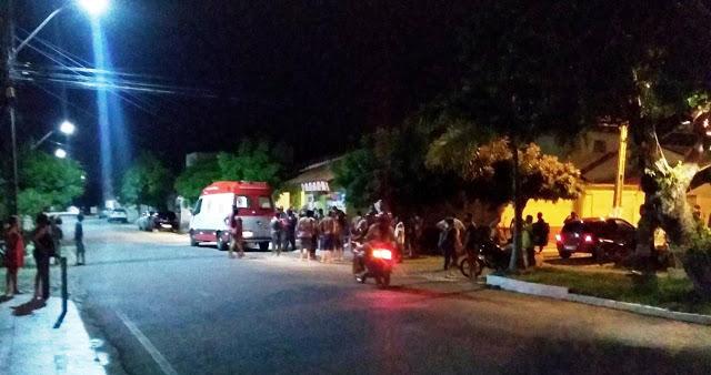 Comerciante é baleado após reagir a assalto na Rua Samuel Santos