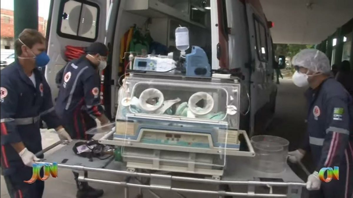 Pequeno Carlos Emanuel passa bem, após cirurgia cardíaca em Recife