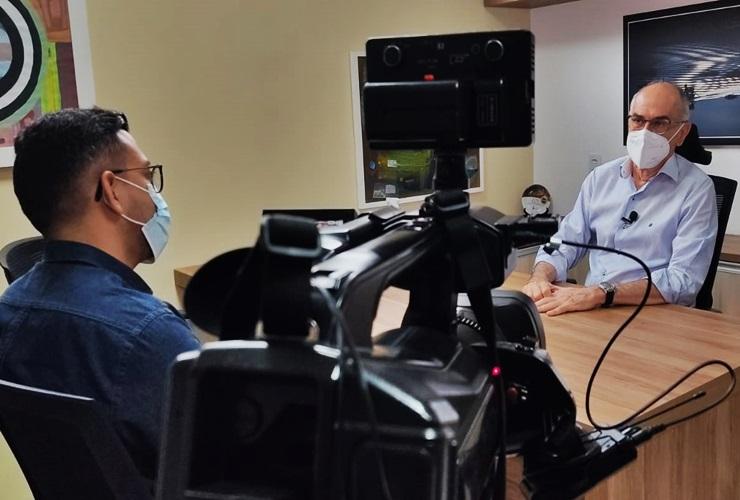 Diretor do Amostragem, Batista Teles, analisa corrida eleitoral nesta terça (12)
