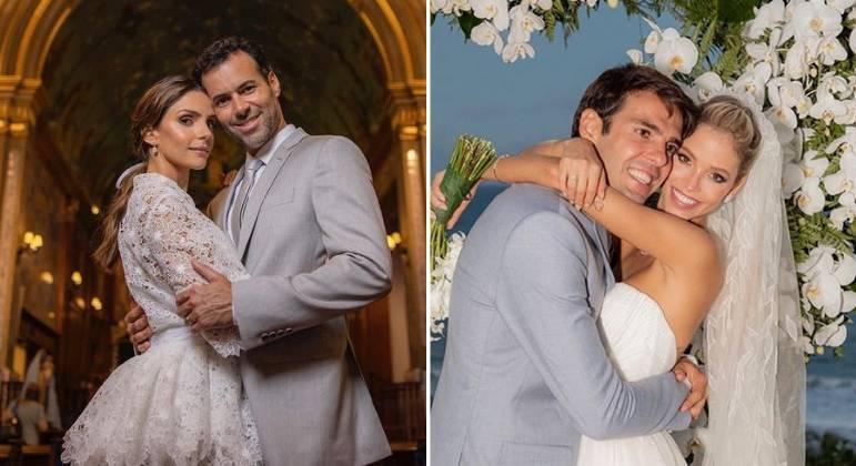 Novo casamento de Carol Celico expõe rixa com Kaká e a atual dele